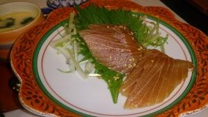 青島グランドホテル 夕食料理2