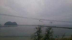日南線、列車の車窓から2