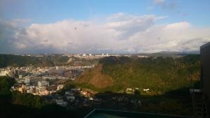 城山観光ホテル 部屋からの眺望