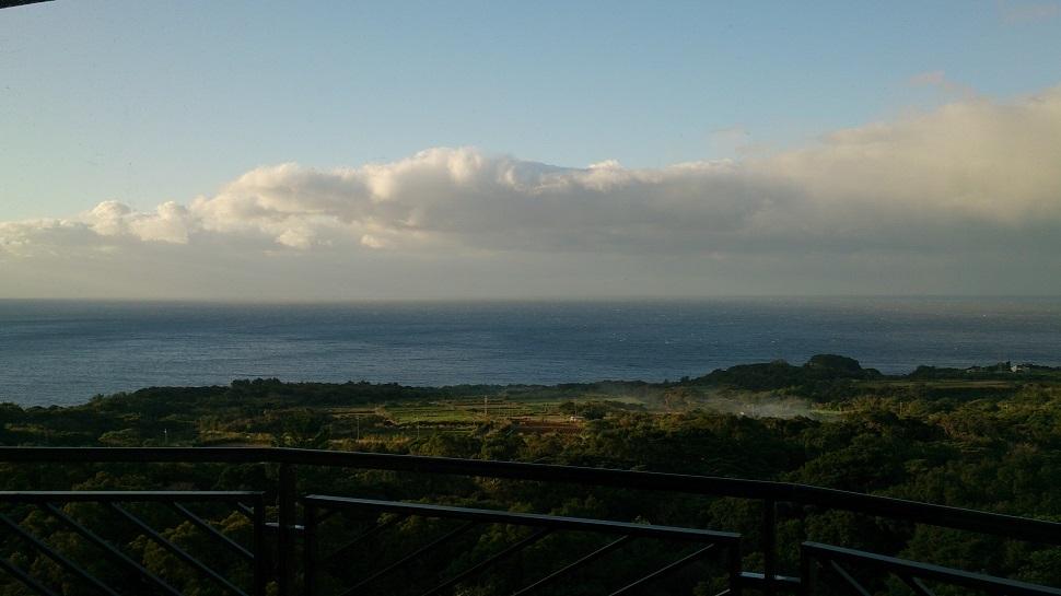 屋久島いわさきホテル バルコニーからの眺望2