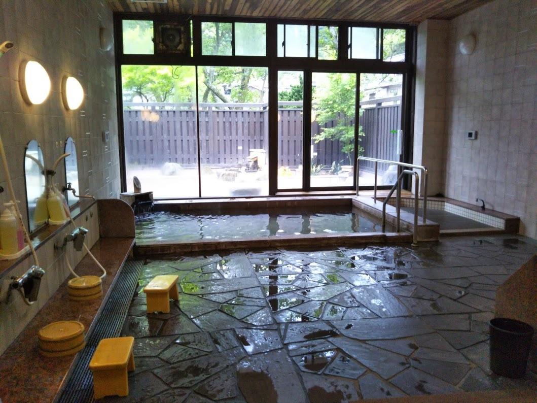 湯の里 渓泉。大浴場、内湯1。