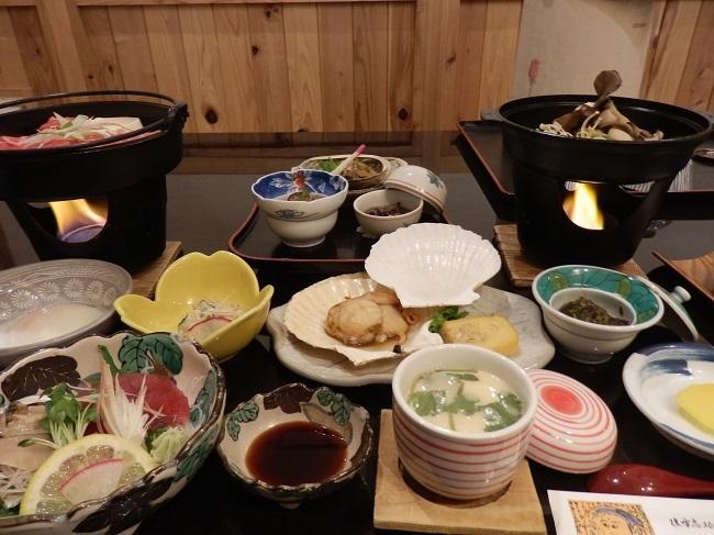 椿館 夕食料理