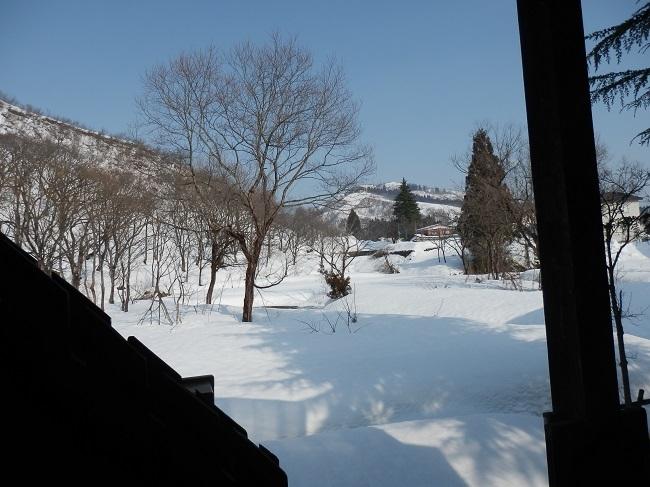 露天風呂 雪見