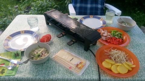 ラクレットな夕食1