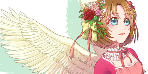 天使◆グロー+簡易バック■