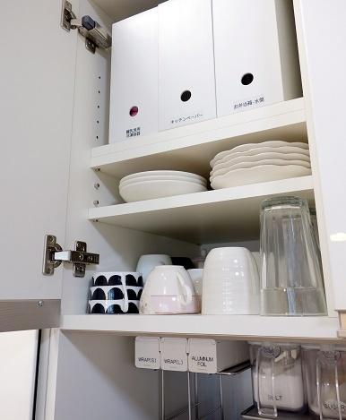 パモウナ・食器棚部分④