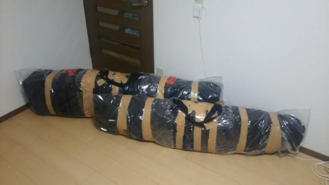 12月29日 1年に1度のボードバッグ