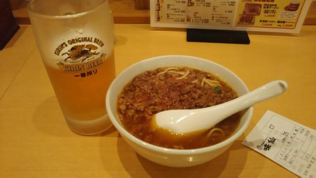12月30日 味仙で台湾ラーメン