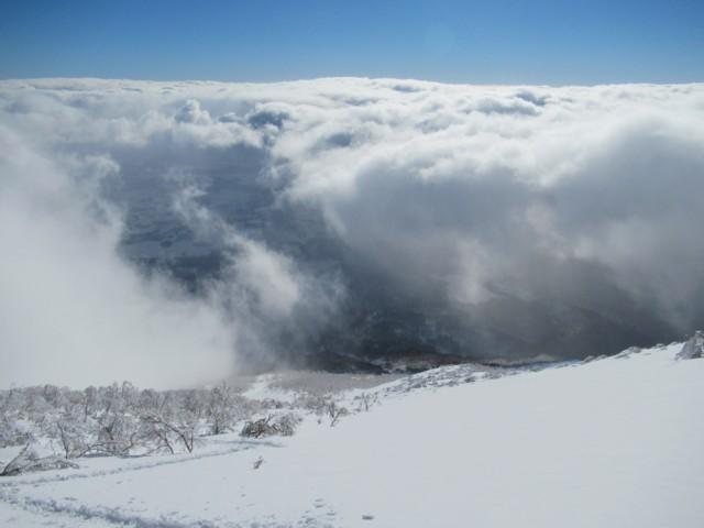 12月31日 雲の上へ