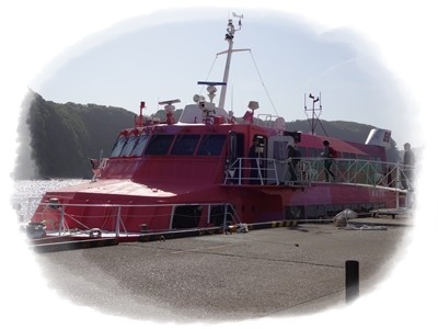 O岡田港発高速船2958