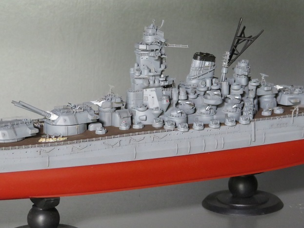大和船体中央部