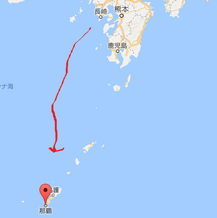 沖縄周辺地図m