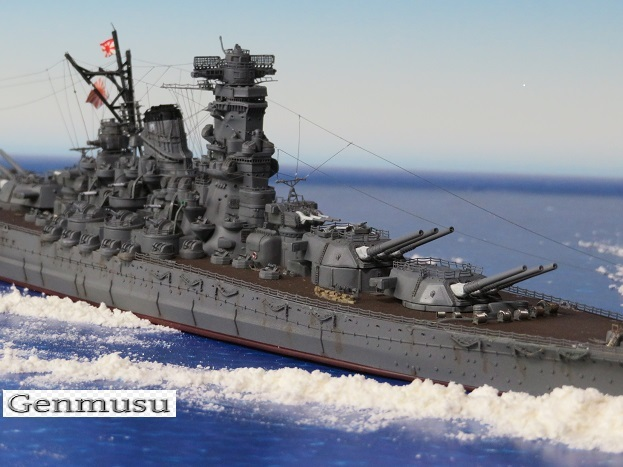 戦艦大和海上疾走風