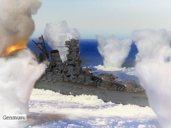 大和沖縄戦被砲撃