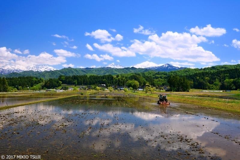 絶景探しの旅 - 0227 立山の里の初夏の田園風景(富山県 立山町)