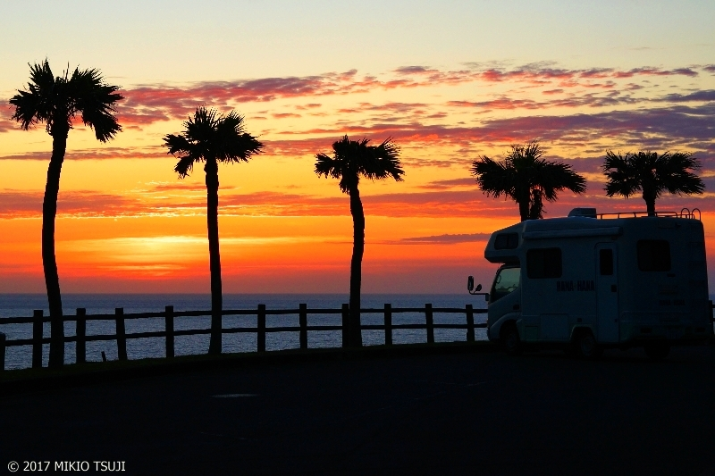 絶景探しの旅 − 0258  奄美大島のサンセット (奄美大島 鹿児島県奄美市)