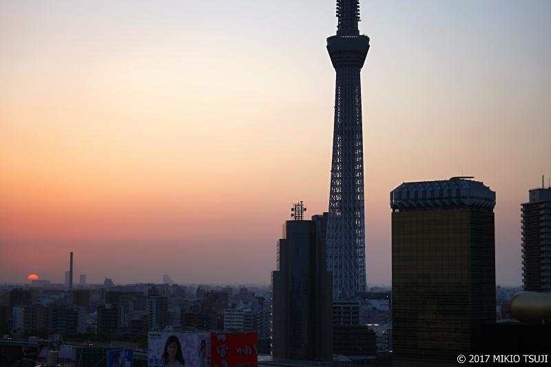 絶景探しの旅 - 0264 東京の日の出 (東京スカイツリー/東京都 墨田区界隈)