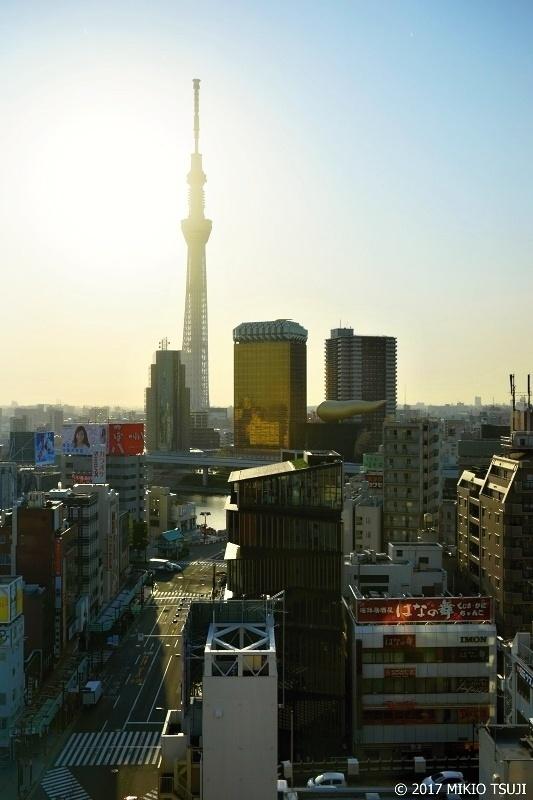 絶景探しの旅 - 0265 黄金の朝(東京スカイツリー 東京都 台東区界隈)