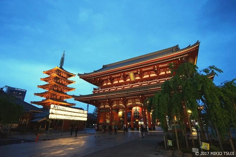 絶景探しの旅 - 0267 浅草寺と五重塔 (東京都 台東区)