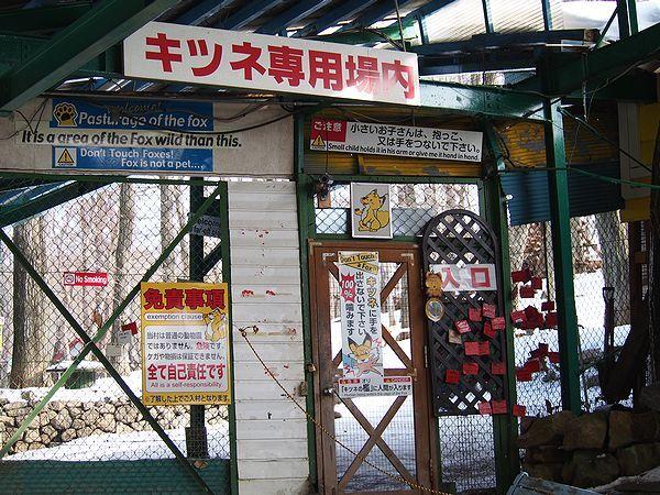 宮城蔵王キツネ村