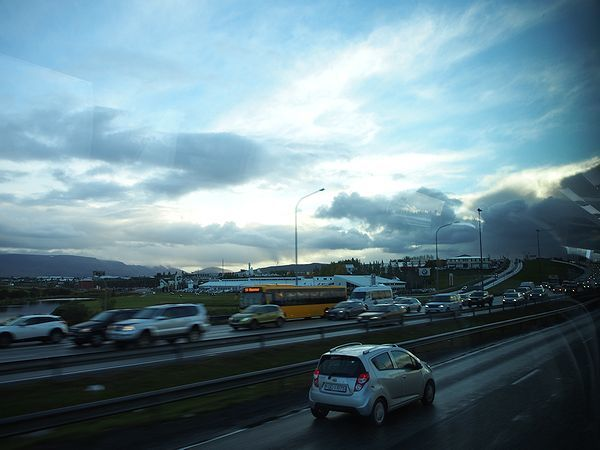 レイキャビクの渋滞