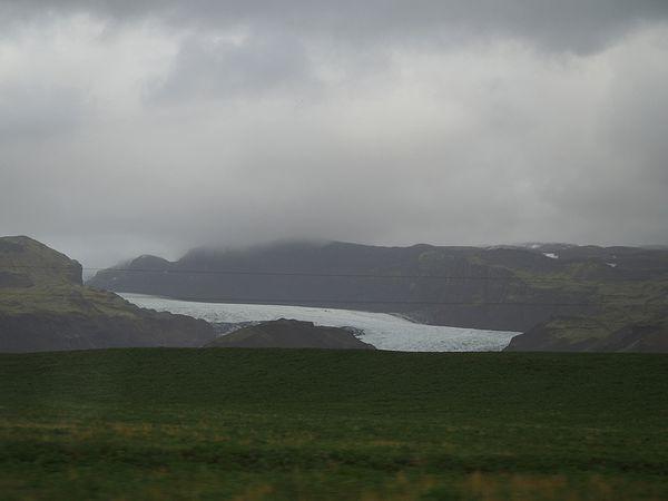初めての氷河