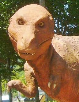 子どもの恐竜