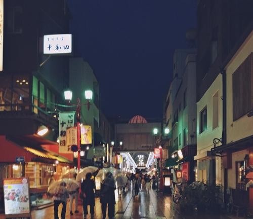 浅草通り_夜