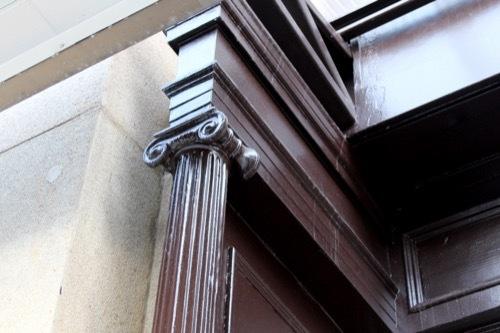 0244:豊岡1925 木のイオニア柱