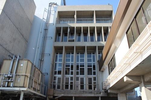 0246:豊岡市民会館 エントランス部の開口②