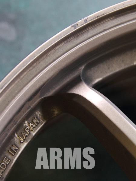 ワーク エモーション11R マットチタン 修理 塗装 1