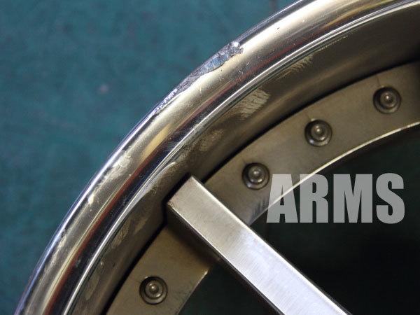 ハイパーフォージドのアルミホイール HF-C10 3