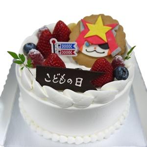 こどもの日苺ショートケーキ