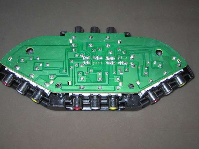 朝日電器 ELPA エルパ ASL-E311 AVセレクター 3入力 1出力 AVセレクター本体分解、基板