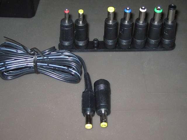 オーディオテクニカ audio-technica マイクロフォンアンプ AT-MA2 付属 AC アダプタープラグと同じサイズの Broadwatch DC プラグアダプター
