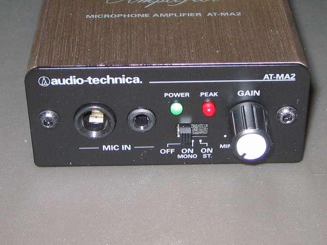 ゲーミングヘッドセットのマイクの音量・音質・ノイズを改善するため、マイクロフォンアンプ AT-MA2 を使ってみました