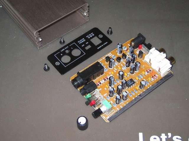 オーディオテクニカ audio-technica マイクロフォンアンプ AT-MA2 本体分解