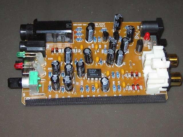 オーディオテクニカ audio-technica マイクロフォンアンプ AT-MA2 本体基板