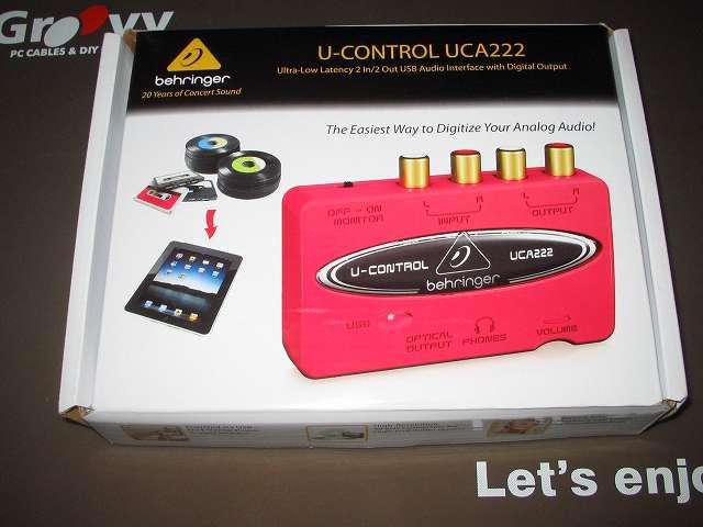 ベリンガー BEHRINGER USB オーディオインターフェイス U-CONTROL UCA222 購入