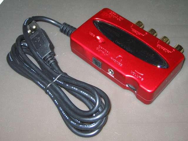 ベリンガー BEHRINGER USB オーディオインターフェイス U-CONTROL UCA222 本体