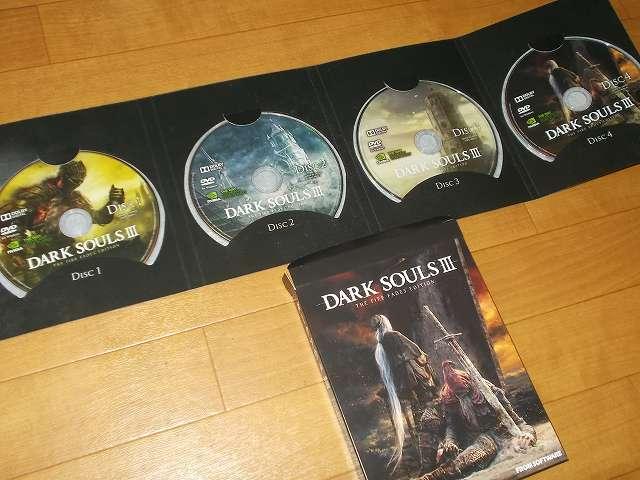 フロムソフトウェア DARK SOULS III THE FIRE FADES 数量限定特典付パッケージ 4枚組ゲームディスク & Steam 製品コード