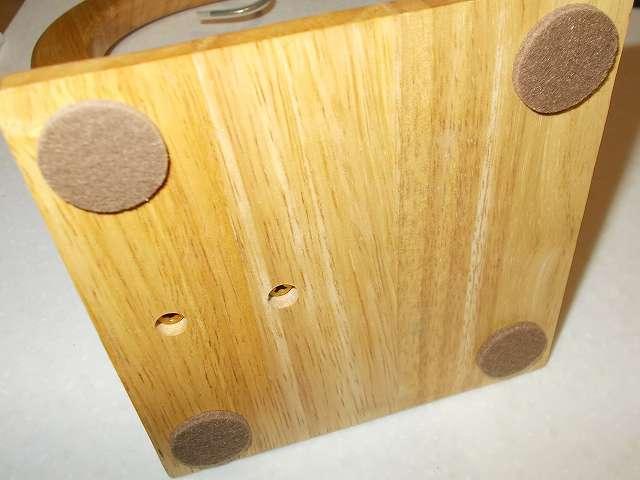 不二貿易 木製バナナツリー台座に大里 セーフティークッション 25丸 ブラウン PR-001 貼り付け