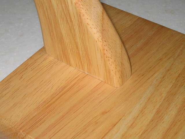 不二貿易 木製バナナツリー 木製台座に木製ツリー固定