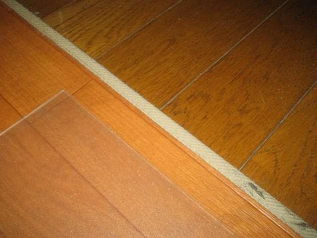チェアマット フロアシート クリア 1畳 [180×91cm、厚さ1.5mm] とフローリング保護 傷防止 クッションマット [182×250cm]