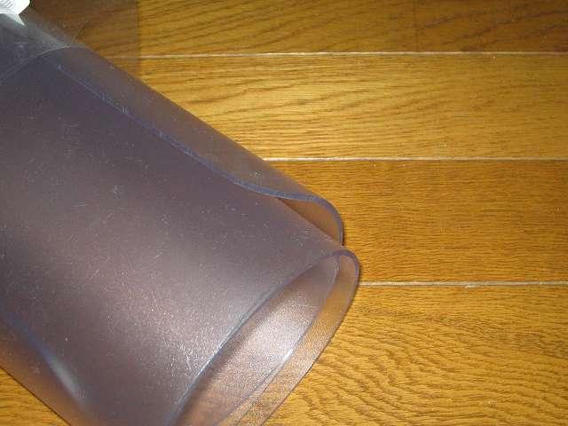 チェアマット クリアチェアシート 厚手 2.5mm タイプ [122×91cm] 簡易包装