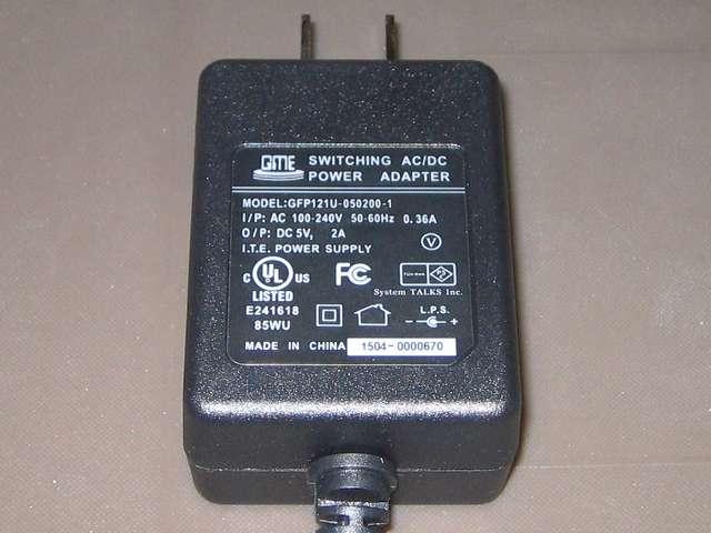 システムトークス SUGOI HUB4Xシリーズ ホワイト アダプタ付 USB2-HUB4XA-WH AC アダプター アウトプット DC5V 2A
