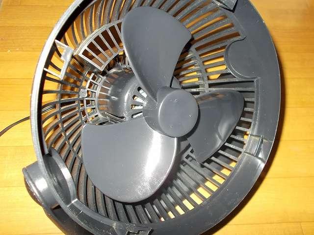 ZEPEAL ゼピール サーキュレーター ブラック DKS-20 組み立て、ナポレックス アーマオール プロテクタントでプラスチック部分をツヤ出し&保護