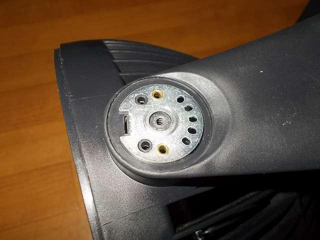 ZEPEAL ゼピール サーキュレーター ブラック DKS-20 角度調整台座メンテナンス 台座ネジが緩むほうのネジ穴