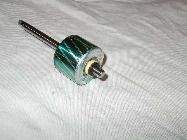 ZEPEAL ゼピール サーキュレーター ブラック DKS-20 メンテナンス ローターに Wilco スラストワッシャー 軸径6.0(d6.2、D9.5、t0.5) UHPE を 1枚装着して注油なし、回転時の異音が収まらず