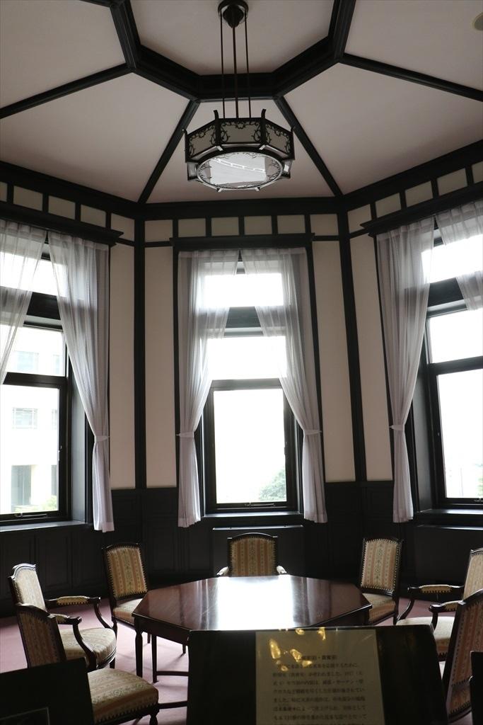 ドームの下部にあたる2階の貴賓室